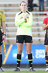 22 November 2013: Texas Tech's Lauren Watson (0). The Texas A&M University Aggies played the Texas Tech University Red Raiders at Fetzer Field in Chapel Hill, NC in a 2013 NCAA Division I Women's Soccer Tournament Second Round match. Texas A&M advanced by winning the penalty kick shootout 4-3 after the game ended in a 2-2 tie after overtime.