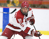 Ryan Grimshaw (Harvard - 6) - The visiting Quinnipiac University Bobcats defeated the Harvard University Crimson 3-1 on Wednesday, December 8, 2010, at Bright Hockey Center in Cambridge, Massachusetts.
