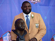Canton, OH - August 6, 2016: the Pro Football Hall of Fame in Canton, Ohio, August 6, 2016.  (Photo by Don Baxter/Media Images International)