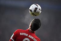 Fussball  1. Bundesliga  Saison 2016/2017  16. Spieltag  FC Bayern Muenchen - RB Leipzig        21.12.2016 Robert Lewandowski (FC Bayern Muenchen) beim Kopfball