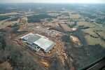 Apple server farm at US Hwy 321 and Startown Road in Catawba County, North Carolina, under construction