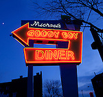 Michael's Good Boy diner sign.(Jodi Miller/Alive)