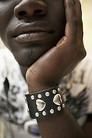 Senegal. Thies. Xam Xanle is a senegalese association which brings together MSM ( Men having Sex with Men). Its main objective is to fight HIV Aids. Within the programme framework of the Global Fund and ANCS (Alliance Nationale contre le Sida), Xam Xanle is in charge of the component Advocacy prevention and care of vulnerable groups, such as MSM, in a fight towards HIV Aids. The Global fund supports ANCS and Xam Xanle with a financial grant. 05.12.09 © 2009 Didier Ruef