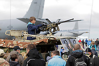 Tiger Air show.  Nato Tiger Meet is an annual gathering of squadrons using the tiger as their mascot. While originally mostly a social event it is now a full military exercise. Tiger Meet 2012 was held at the Norwegian air base &Oslash;rlandet.