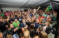 ZEILEN: LEMMER: 20-08-2016, IFKS Skûtsjesilen, ©foto Martin de Jong