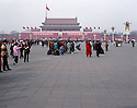 AA01217-03...Beijing's Tiananmen Square and the Meridian Gate.