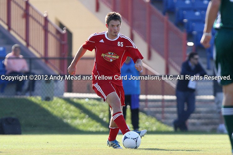 06 January 2012: Kelyn Rowe (UCLA). The 2012 MLS Player Combine was held on the cricket oval at Central Broward Regional Park in Lauderhill, Florida.