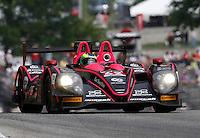 #42 Nissan Morgan, Gustavo Yacaman, Olivier Pla, IMSA Tudor Series Race, Road America, Elkhart Lake, WI, August 2014.  (Photo by Brian Cleary/ www.bcpix.com )