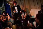"Attendees relax in the ""Special Guests"" area at the Inaugural Ball, January 21, 2013 in Washington, D.C."