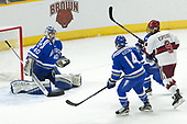 Shane Starrett (AFA - 40), Ben Kucera (AFA - 14), Luke Esposito (Harvard - 9) - The Harvard University Crimson defeated the Air Force Academy Falcons 3-2 in the NCAA East Regional final on Saturday, March 25, 2017, at the Dunkin' Donuts Center in Providence, Rhode Island.