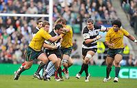 Twickenham, GREAT BRITAIN, during the 2011 Killik Cup Match Barbarians [Baa Baa's] vs Australia, Played at the RFU Stadium Twickenham, Surrey on Saturday 26/11/2011 [Photo, Peter Spurrier/Intersport-images]