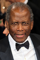 HOLLYWOOD, LOS ANGELES, CA, USA - MARCH 02: Sidney Poitier at the 86th Annual Academy Awards held at Dolby Theatre on March 2, 2014 in Hollywood, Los Angeles, California, United States. (Photo by Xavier Collin/Celebrity Monitor)