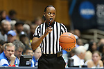 11 February 2013: Referee Denise Brooks. The Duke University Blue Devils played the University of Maryland Terrapins at Cameron Indoor Stadium in Durham, North Carolina in an NCAA Division I Women's Basketball game. Duke won the game 71-56.
