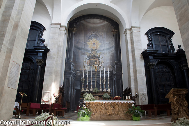 Altar of Duomo Cathedral in Turin - Torino, Italy