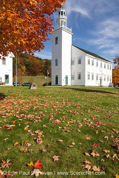 Washington Town Hall which is located in the Washington Common in Washington, New Hampshire, USA .Notes:.Washington is the first town incorperated under the name of George Washington plus the meeting house has been in continuous use for over 200 years.