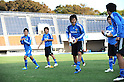 Mu Kanazaki (JPN),.OCTOBER 18, 2011 - Football / Soccer :.U-22 Japan team candidates training camp in Tokyo, Japan. (Photo by FAR EAST PRESS/AFLO)