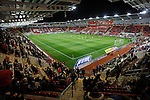 Rotherham 1 Sheffield Wednesday 2, 23/10/2015. New York Stadium, Championship. Second-half goals from Lucas Joao and Fernando Forestieri gave Sheffield Wednesday a derby victory at Rotherham. Interior view of The New York Stadium. Photo by Paul Thompson.