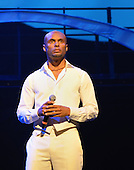 "August 26, 2011 (Washington, DC)  International R&B singer, Kenny Lattimore performed at the ""M.L.K.: A Monumental Life"" tribute to Martin Luther King Jr. at the D.A.R. Constitution Hall in Washington.  The event, presented by Alpha Phi Alpha Fraternity, was a theatrical and musical celebration honoring Dr. King.  (Photo by Don Baxter/Media Images International)"