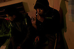 Noveno's get stoned and drunk at a friend's house. The Noveno's have suffered three murders in the last year because of conflicts between rival gangs who were extorting and robbing in their neighborhood. Most of the gang never made it to middle school because the cost of tuition was too high.
