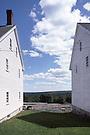 Shaker Buildings.Sabbath Day Lake, Maine