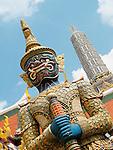 Grand Palace-Statue of Beastial Guardian, Bangkok