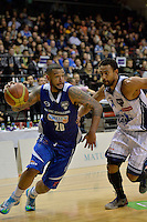 Benny Anthony Jr in action during the NBL Final Four - Saints v Giants at TSB Bank Arena, Wellington, New Zealand on Friday 4 July 2014. <br /> Photo by Masanori Udagawa. <br /> www.photowellington.photoshelter.com.