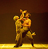 English National Ballet <br /> Triple Bill<br /> at Sadler's Wells, London, Great Britain <br /> rehearsal <br /> 7th September 2015 <br /> <br /> Dust<br /> by Akram Khan <br /> <br /> Tamara Rojo <br /> James Streeter <br /> <br /> <br /> <br /> Photograph by Elliott Franks <br /> Image licensed to Elliott Franks Photography Services