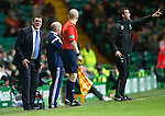 Celtic v St Johnstone.....04.03.15<br /> Tommy Wright goes nuts at the assistant ref<br /> Picture by Graeme Hart.<br /> Copyright Perthshire Picture Agency<br /> Tel: 01738 623350  Mobile: 07990 594431