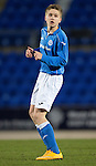 St Johnstone Academy v Manchester United Academy....17.04.15   <br /> David Brown<br /> Picture by Graeme Hart.<br /> Copyright Perthshire Picture Agency<br /> Tel: 01738 623350  Mobile: 07990 594431