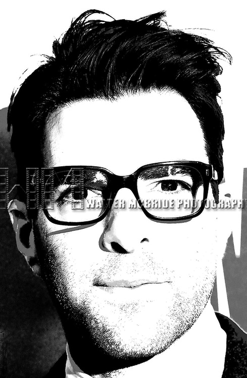 Photo Illustration of Zachary Quinto attending 'MISCAST 2013' MCC Theater's Annual Musical Revue & Gala at Hammerstein Ballroom in New York City on 3/4/2013