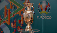 20161216 - AMSTERDAM , NETHERLANDS : illustration picture of the Euro 2020 Champions cup during the UEFA EURO 2020 Host City Logo Launch event at the Hermitage Amsterdam Venue in Amsterdam , The Netherlands , Friday 16 th December 2016 . PHOTO UEFA.COM | SPORTPIX.BE | DAVID CATRY