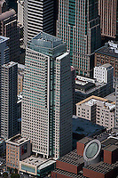 aerial photograph St. Regis Museum tower hotel San Francisco Museum of Modern Art SFMOMA  San Francisco