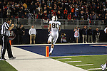 Vanderbilt wide receiver Chris Boyd (80) scores the game winning touchdown against Ole Miss at Vaught-Hemingway Stadium in Oxford, Miss. on Saturday, November 10, 2012. (AP Photo/Oxford Eagle, Bruce Newman)