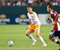 CARSON, CA – July 23, 2011: Houston Dynamo midfielder Geoff Cameron (20) during the match between Chivas USA and Houston Dynamo at the Home Depot Center in Carson, California. Final score Chivas USA 3, Houston Dynamo 0.