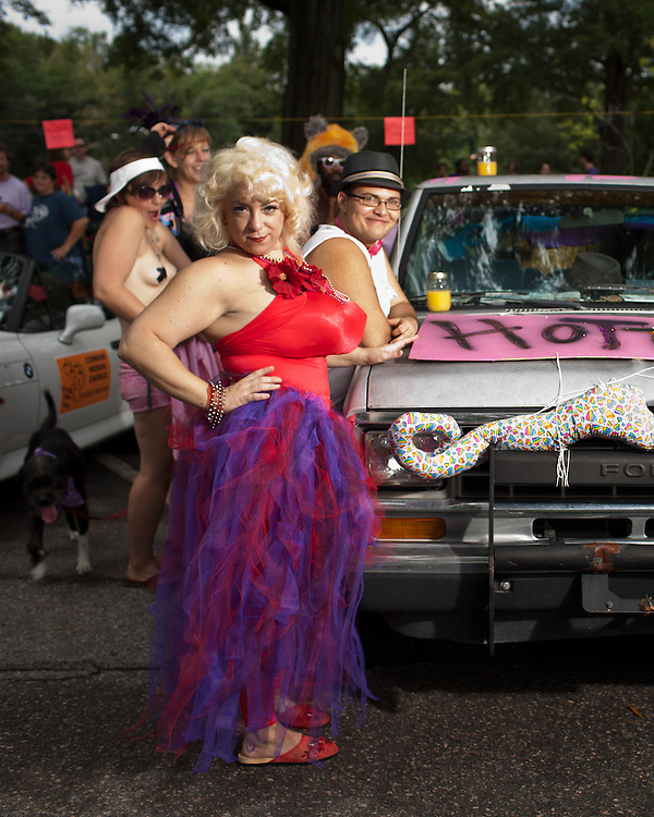 The 27th annual N.C. PRIDE parade in Durham, NC, Saturday, September 24, 2011.