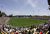 31 May 2009: A view of fans is pictured watching USA vs Ireland Rugby game at Buck Shaw Stadium in Santa Clara, California.   Ireland defeated USA, 27-10.