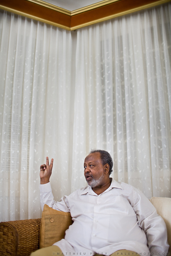 President Guelleh has been in power since 1999. Djibouti may be a tiny state, but he is one of the continent's richest men...Interview with Ismaïl Omar Guelleh (born November 27, 1947), the President of Djibouti. After Djibouti became independent, he became head of the secret police. He received training from the Somali National Security Service  and then from the French Secret Service...The geostrategical and geopolitical importance of the Republic of Djibouti, located on the Horn of Africa, by the Red Sea and the Gulf of Aden, and bordered by Eritrea, Ethiopia and Somalia.