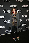 """Alyssa Milano Attends ASPiRE presents the Super 70s Soul Party Hosted Earvin """"Magic"""" Johnson  at Time Warner Cable Studio Highline Stages, NY"""