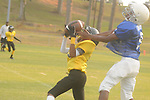 Water Valley vs. Charleston in middle school football action in Water Valley, Miss. on Tuesday, September 25, 2012.