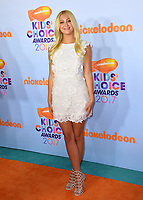 Actress Ava Sambora (daughter of Richie Sambora &amp; Heather Locklear) at the Nickelodeon 2017 Kids' Choice Awards at the USC's Galen Centre, Los Angeles, USA 11 March  2017<br /> Picture: Paul Smith/Featureflash/SilverHub 0208 004 5359 sales@silverhubmedia.com