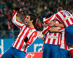 Futbol. Liga bbva. Atletico de Madrid (2) vs (1) Athletic de Bilbao. 21/3/2012