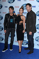 Keith Urban, Jennifer Lopez, Harry Connick Jr.<br />