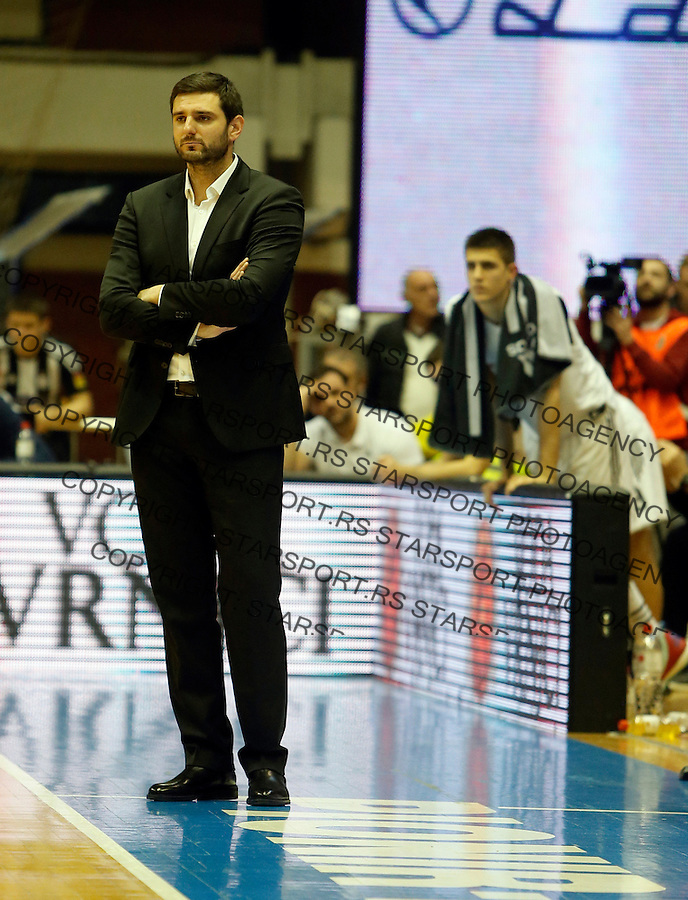 Petar Bozic Aba regionalna liga Partizan - Igokea 27.12.1015. December 27. 2015. (credit image & photo: Pedja Milosavljevic / STARSPORT)