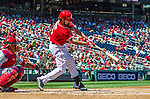 7 September 2014: Washington Nationals infielder Anthony Rendon in action against the Philadelphia Phillies at Nationals Park in Washington, DC. The Nationals defeated the Phillies 3-2 to salvage the final game of their 3-game series. Mandatory Credit: Ed Wolfstein Photo *** RAW (NEF) Image File Available ***