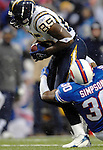 3 December 2006: San Diego Chargers tight end Antonio Gates (85) in action against the Buffalo Bills at Ralph Wilson Stadium in Orchard Park, New York. The Charges defeated the Bills 24-21. Mandatory Photo Credit: Ed Wolfstein Photo<br />