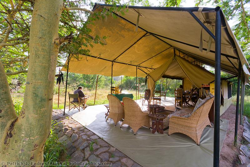 Luxury tented camp in Masai Mara, Kenya