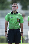 04 September 2016: Assistant Referee Kevin Broadley. The University of North Carolina Tar Heels played the Villanova University Wildcats at Koskinen Stadium in Durham, North Carolina in a 2016 NCAA Division I Women's Soccer match. UNC won the game 2-0