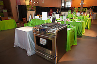 GE Café's gas stove in the Silent Auction at FoodShare Toronto's Recipe for Change, February 28,  2013