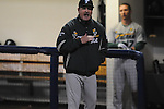 Tulane coach Rick Jones yells at the home plate umpire following after a Tulane batter struck out at Oxford-University Stadium in Oxford, Miss. on Friday, March 4, 2010.  Ole Miss won 5-1 to improve to 10-1.