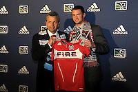 Frank Klopas,Austin Berry 9th pick of first round by Chicago Fire... The 2012 MLS Superdraft was held on January 12, 2012 at The Kansas City Convention Center, Kansas City, MO.